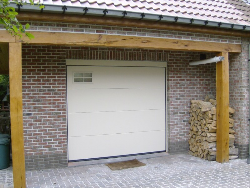 Crawford Normstahl garageport Eurostyle Iso RAL1015 B