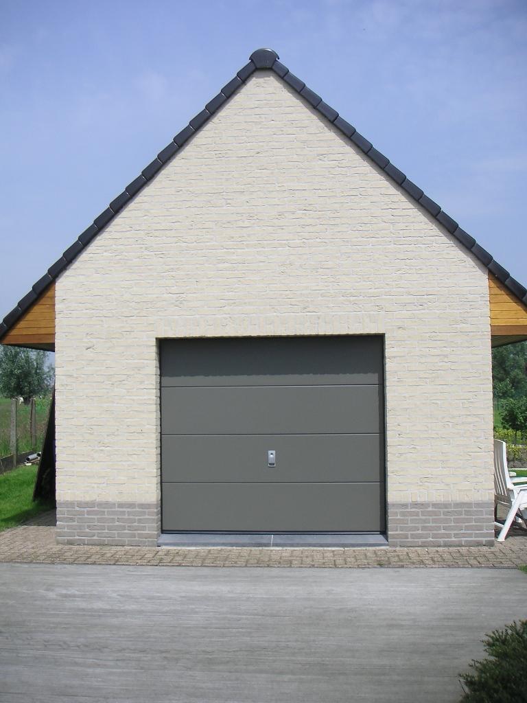 Handbediende garagepoort