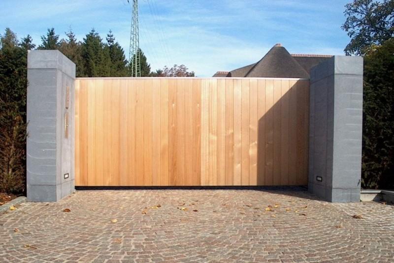 VACO SECUGA schuifhek frame met verticaal hout opleg