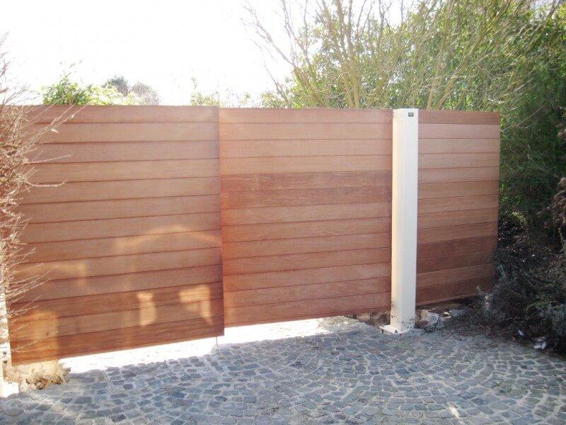 Vaco Secuga dubbel draaihek met horizontale houtbekleding